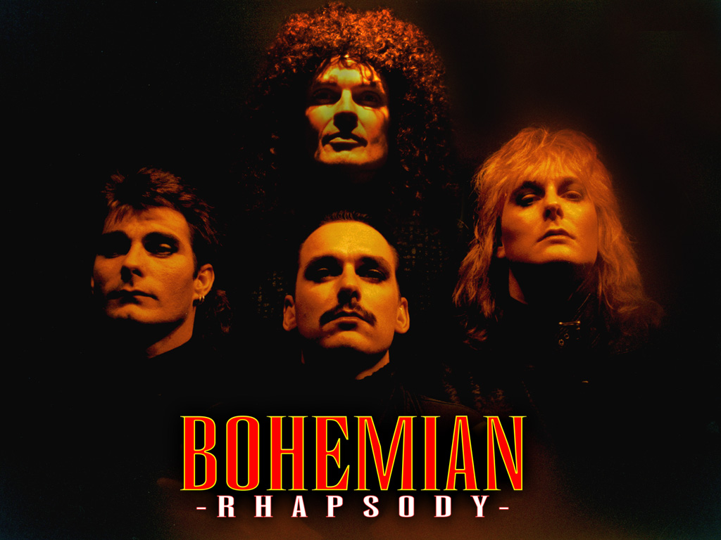 New Years Eve 2016 Bohemian Rhapsody four faces ...